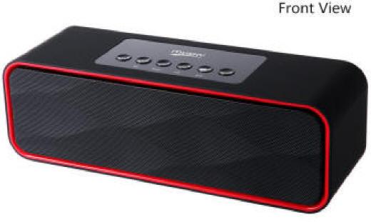Portable Wireless Bluetooth Speaker with FM Radio