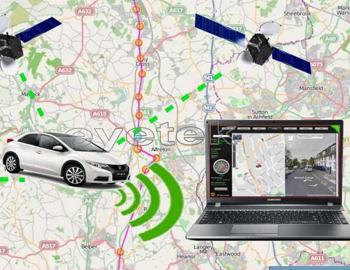 Vehicle GPS Live Tracker MG710