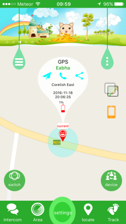 Kids GPS Tracking Watch App